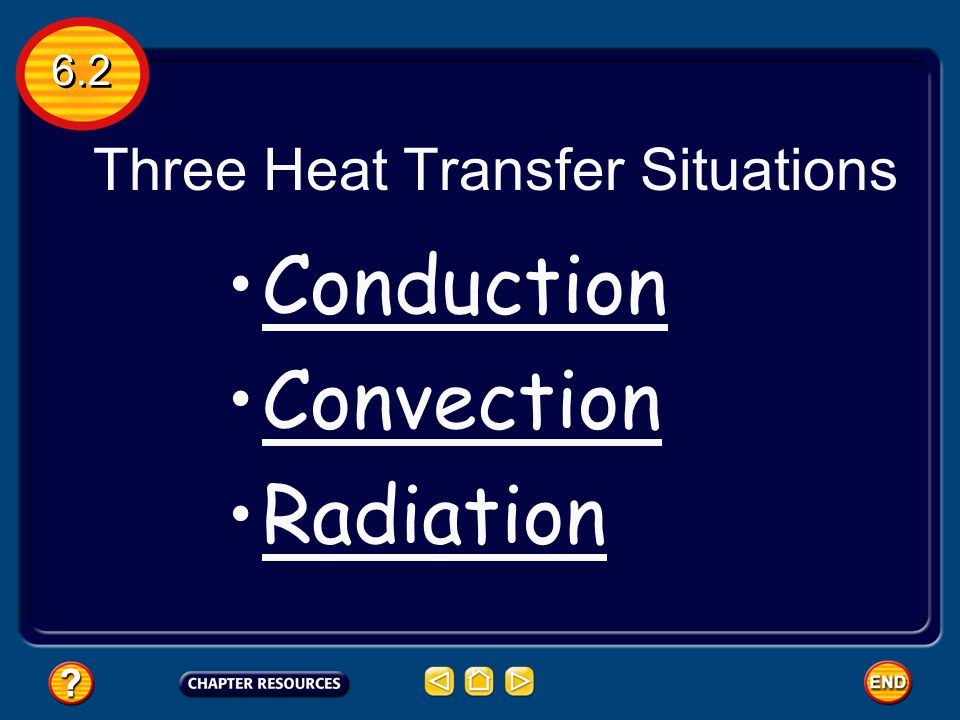 Three Heat Transfer Situations