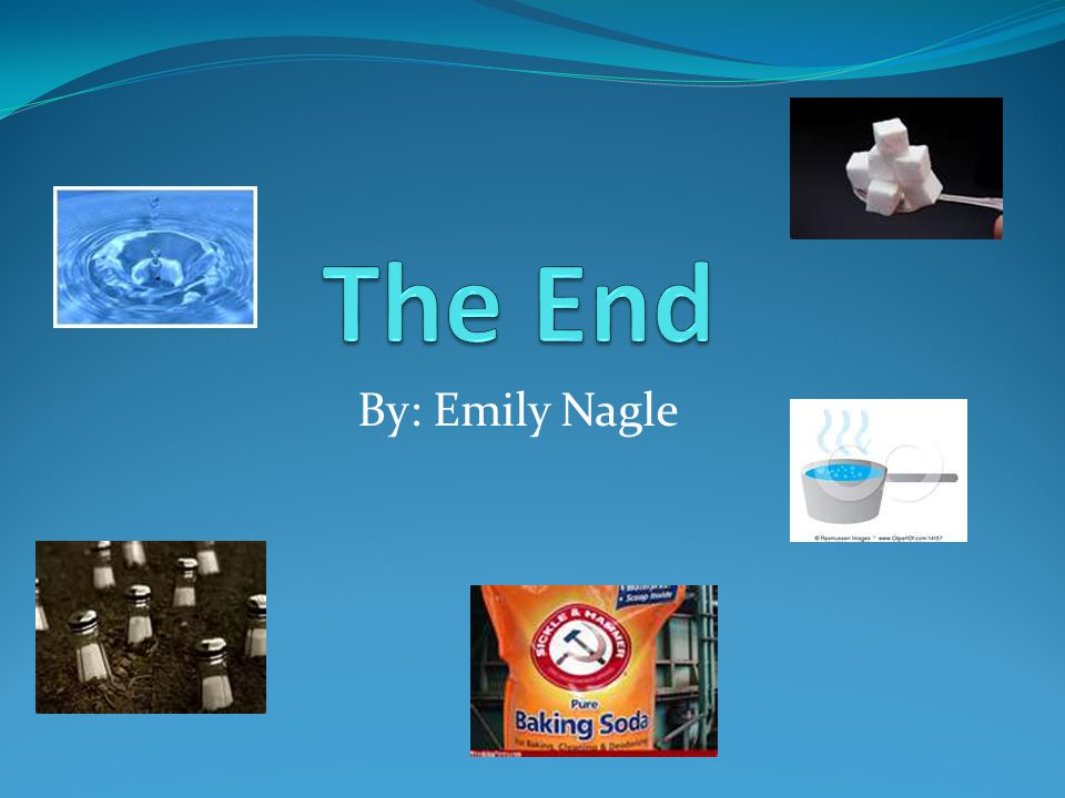 The End By: Emily Nagle