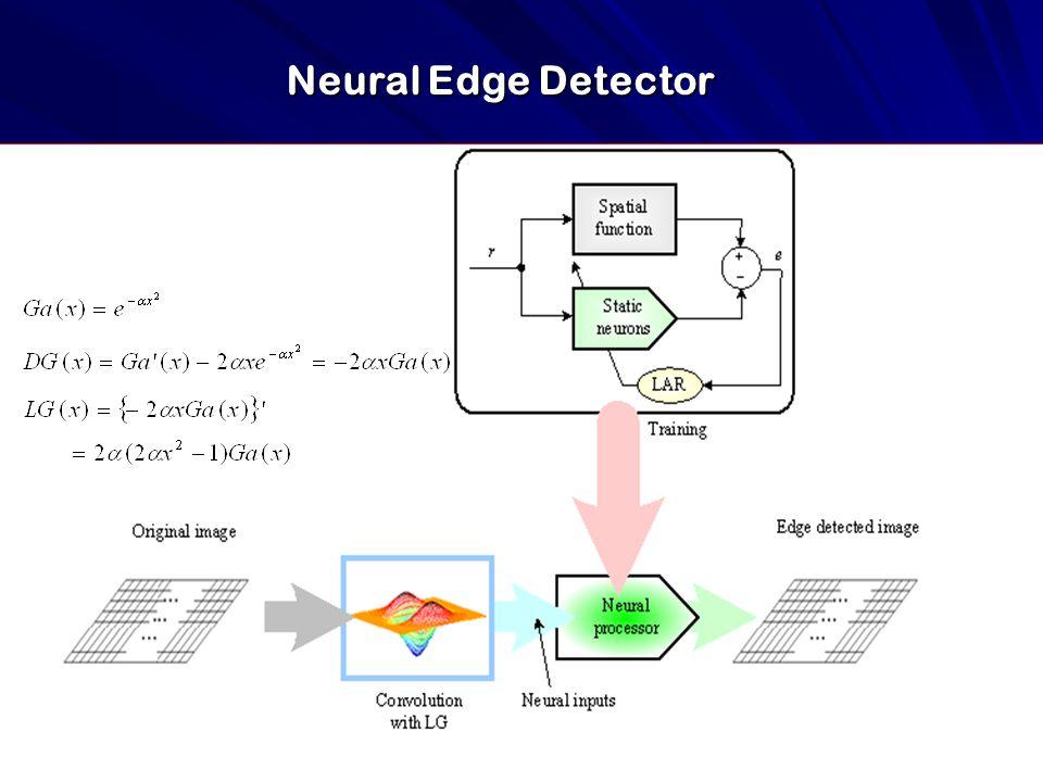 Neural Edge Detector