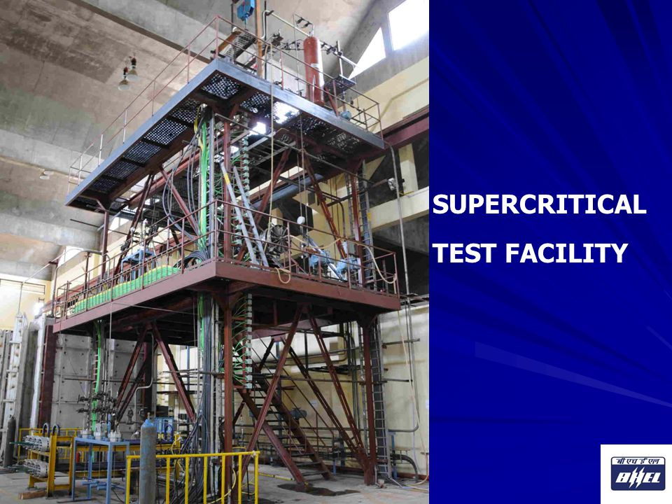 SUPERCRITICAL TEST FACILITY