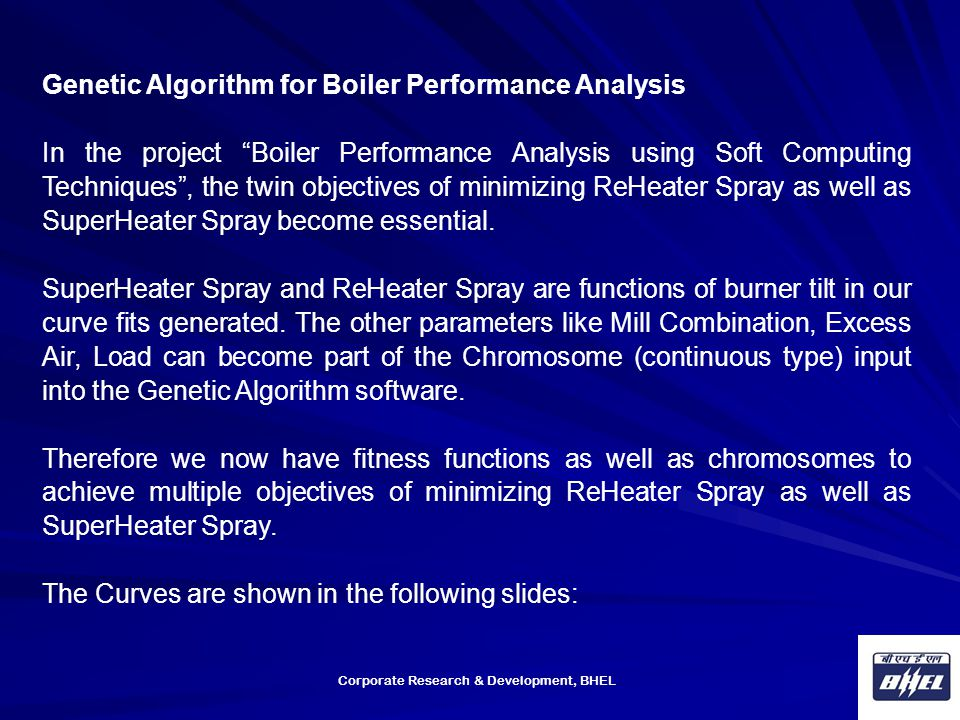 Genetic Algorithm for Boiler Performance Analysis