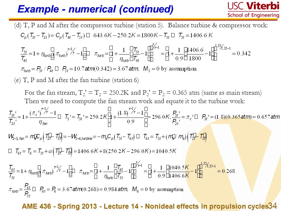 Example - numerical (continued)