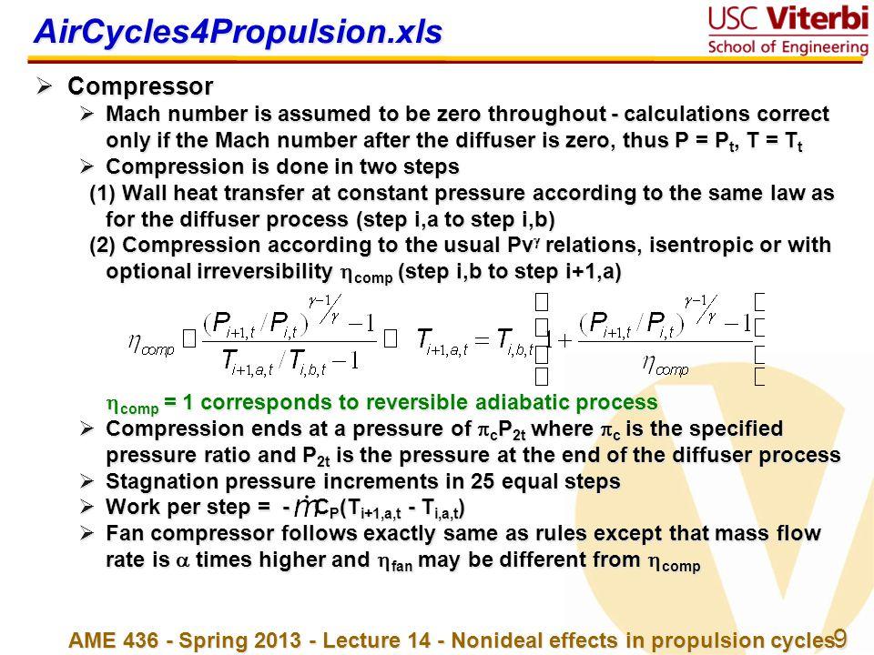 AirCycles4Propulsion.xls Compressor
