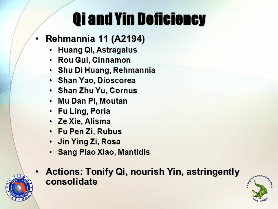 Qi and Yin Deficiency Rehmannia 11 (A2194)