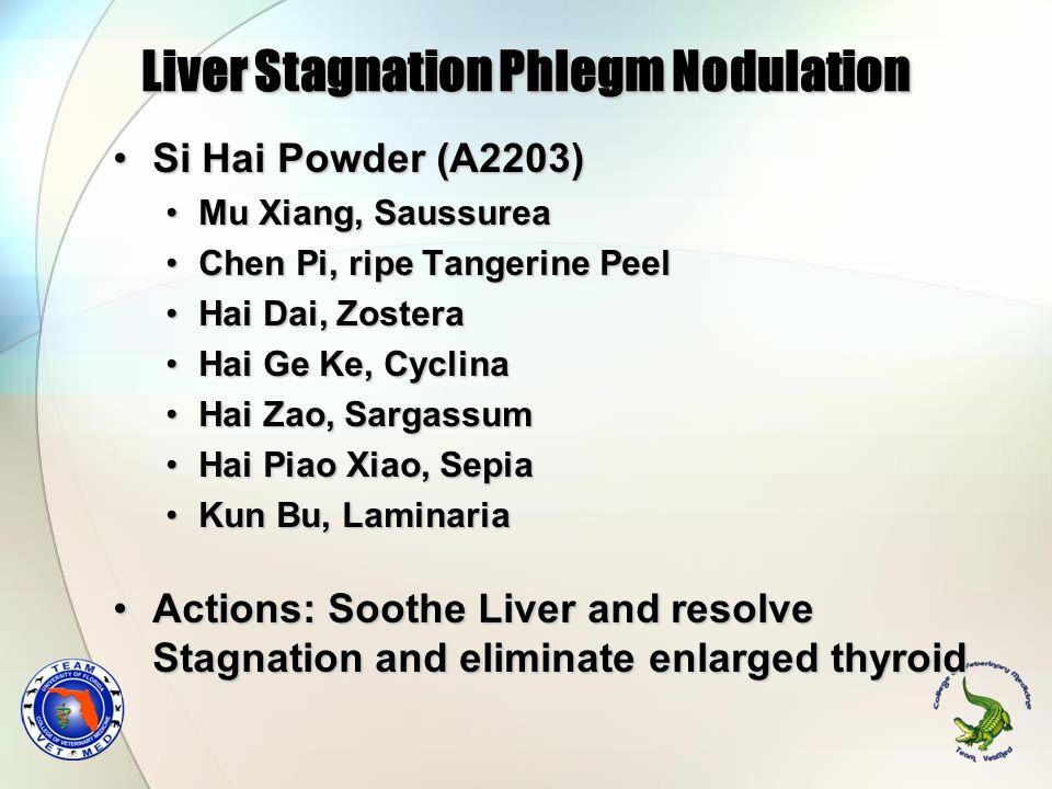 Liver Stagnation Phlegm Nodulation
