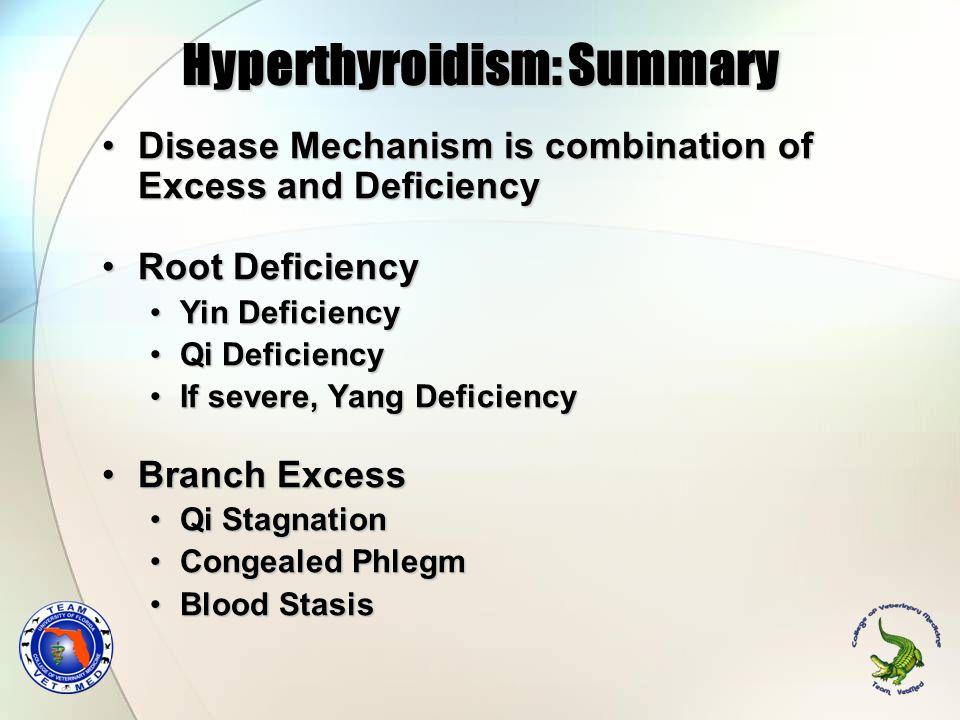 Hyperthyroidism: Summary