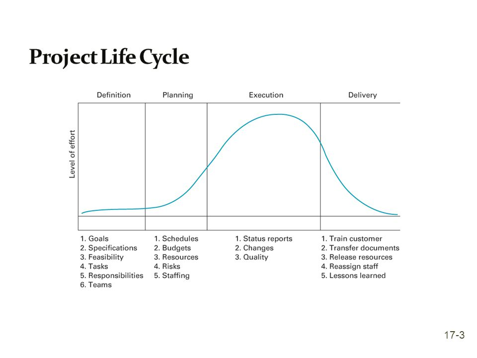 Project Life Cycle 17-3