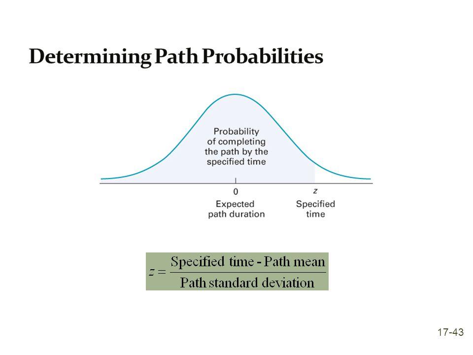 Determining Path Probabilities