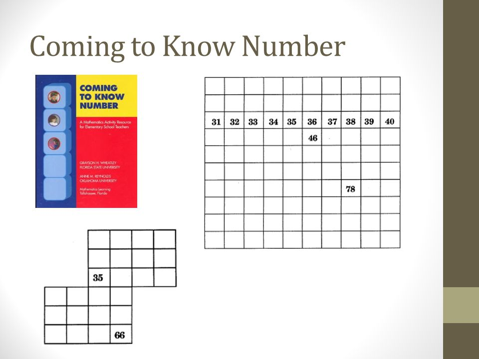 Coming to Know Number