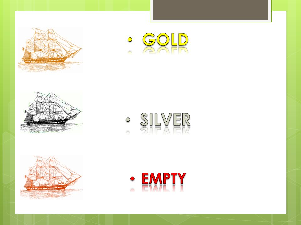 GOLD SILVER EMPTY