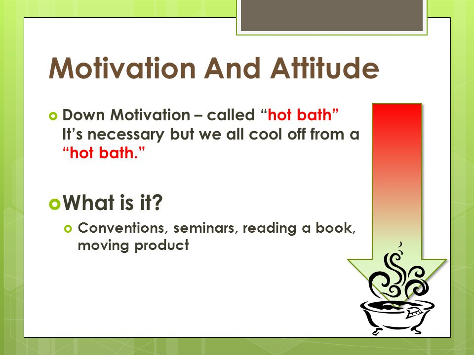 Motivation And Attitude