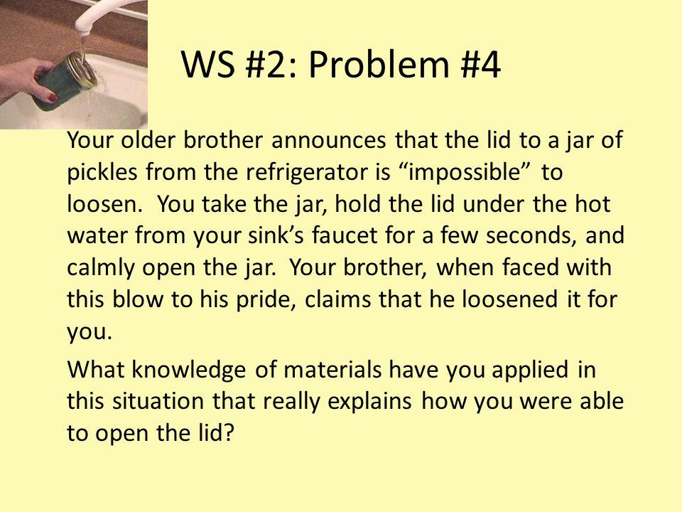 WS #2: Problem #4