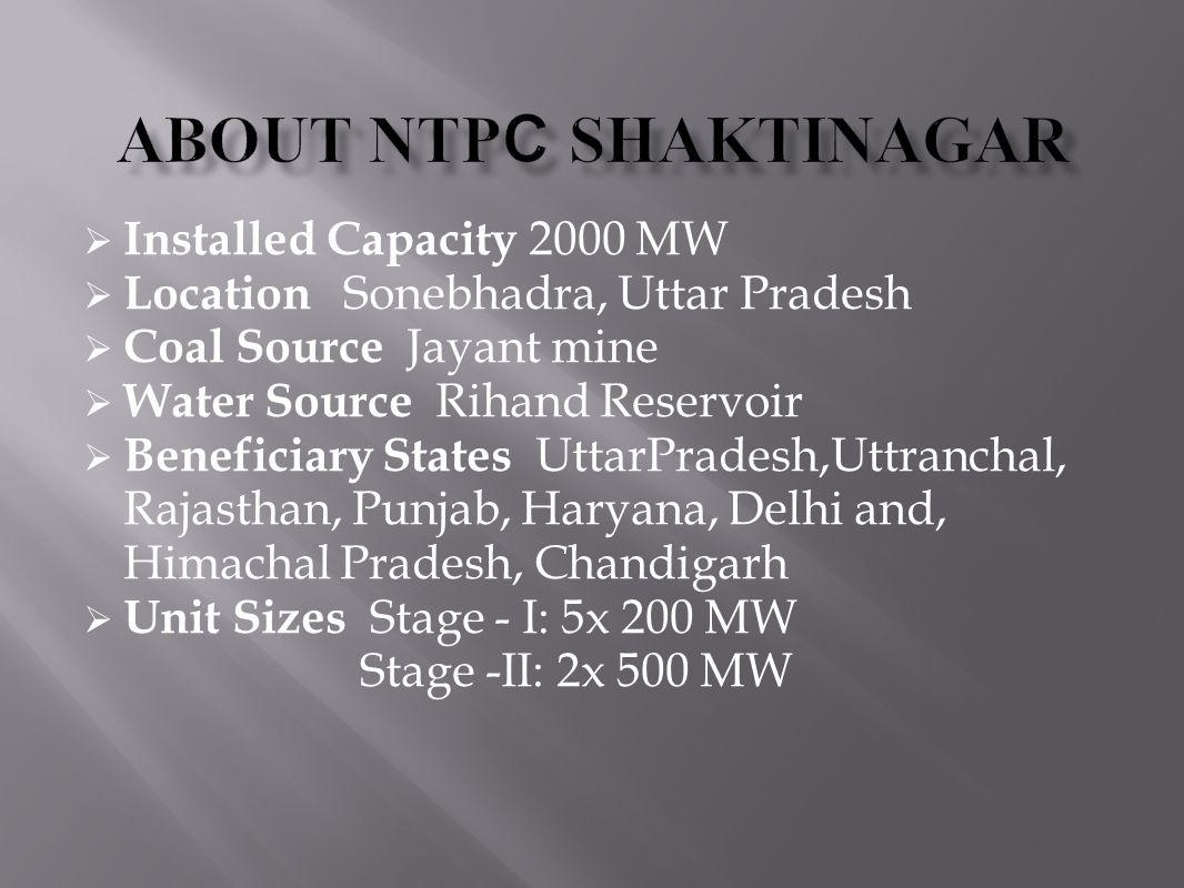 About NTPC shaktinagar