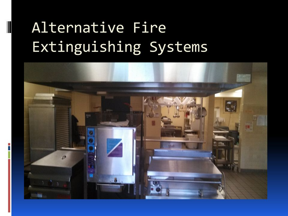 Alternative Fire Extinguishing Systems