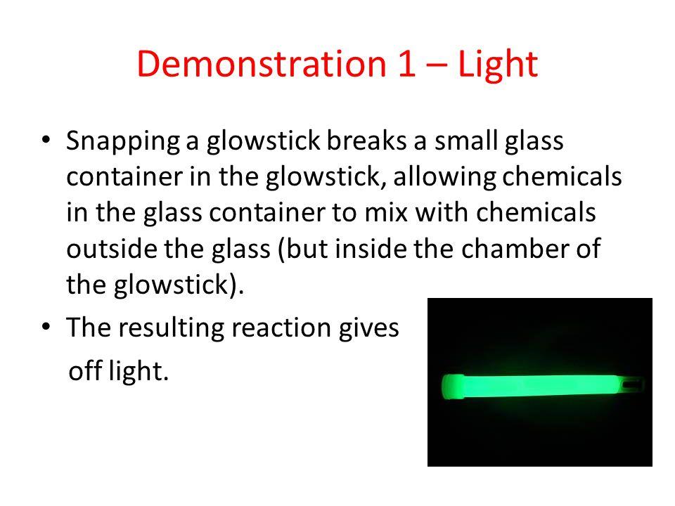 Demonstration 1 – Light