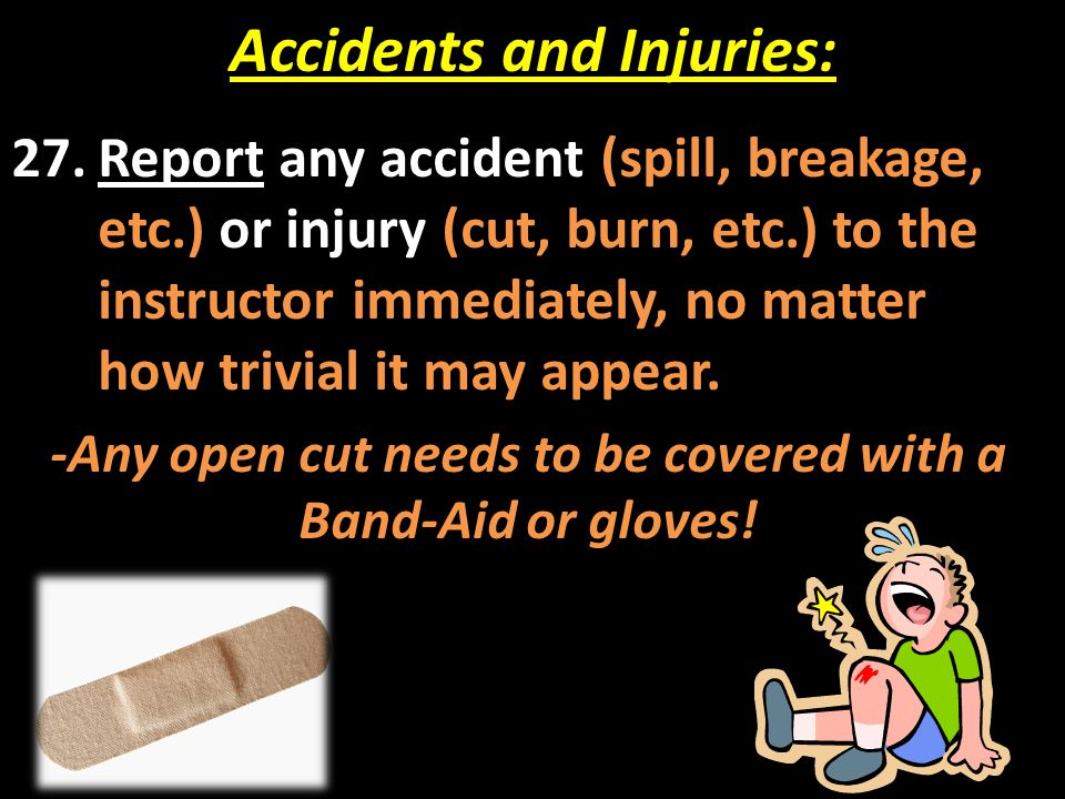 Accidents and Injuries: