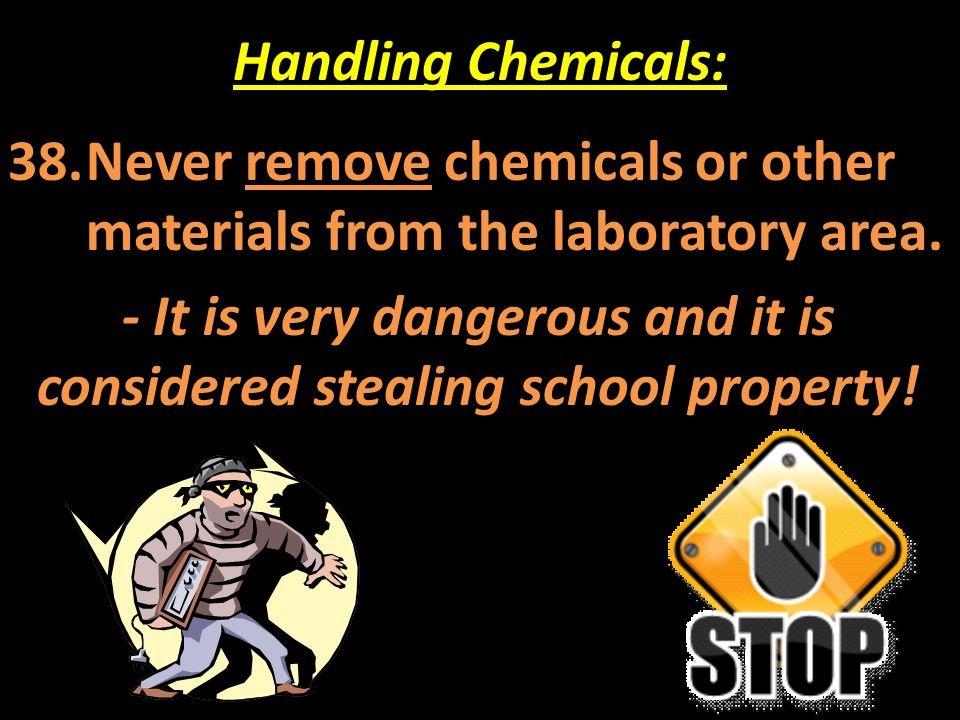 - It is very dangerous and it is considered stealing school property!