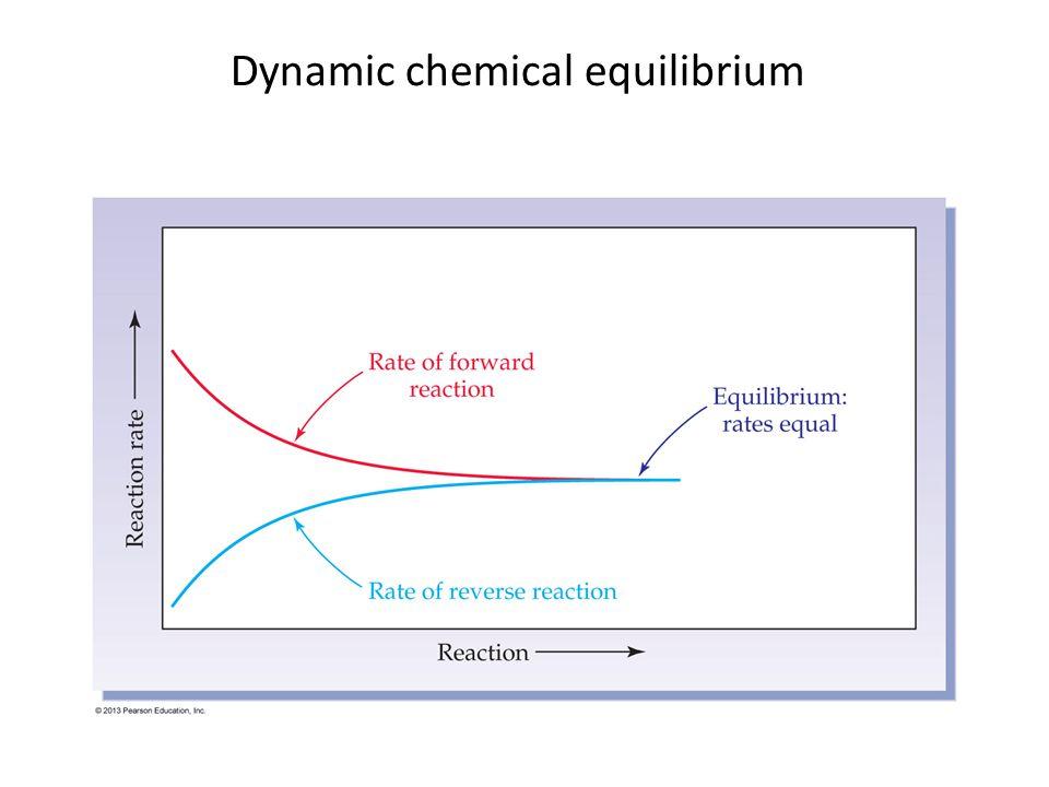Dynamic chemical equilibrium