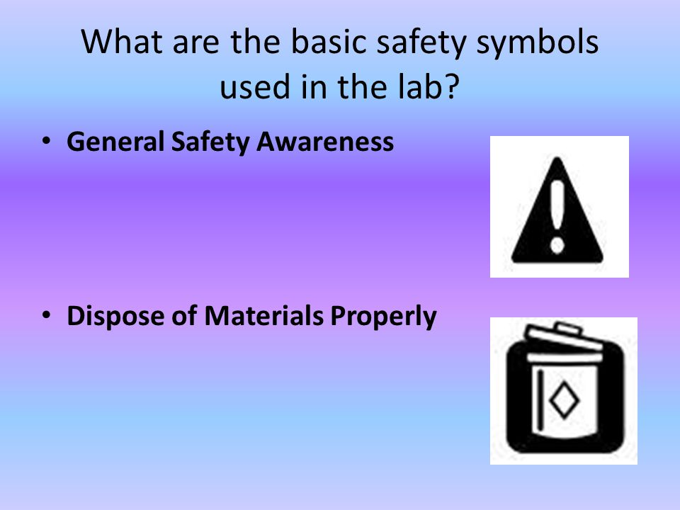 Laboratory Safety Ppt Download