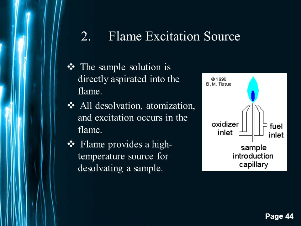 Flame Excitation Source