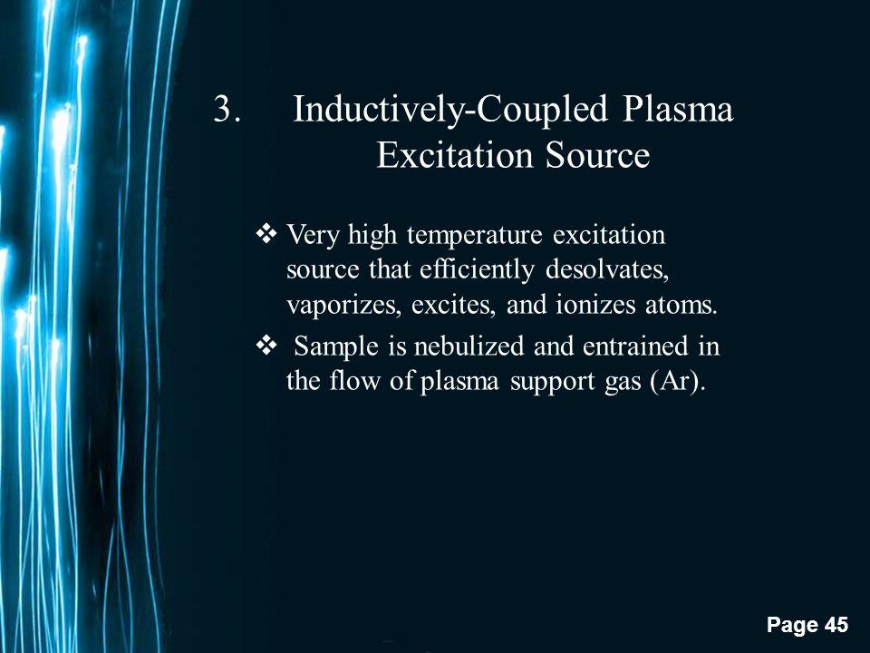 Inductively-Coupled Plasma Excitation Source