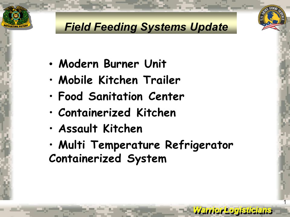 Field Feeding Systems Update