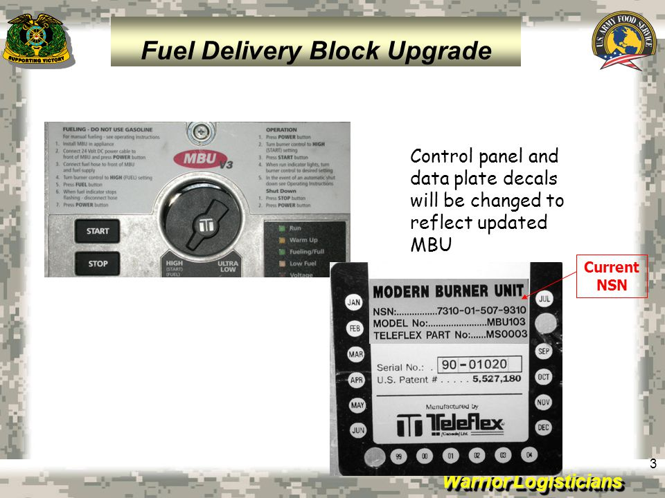 Fuel Delivery Block Upgrade