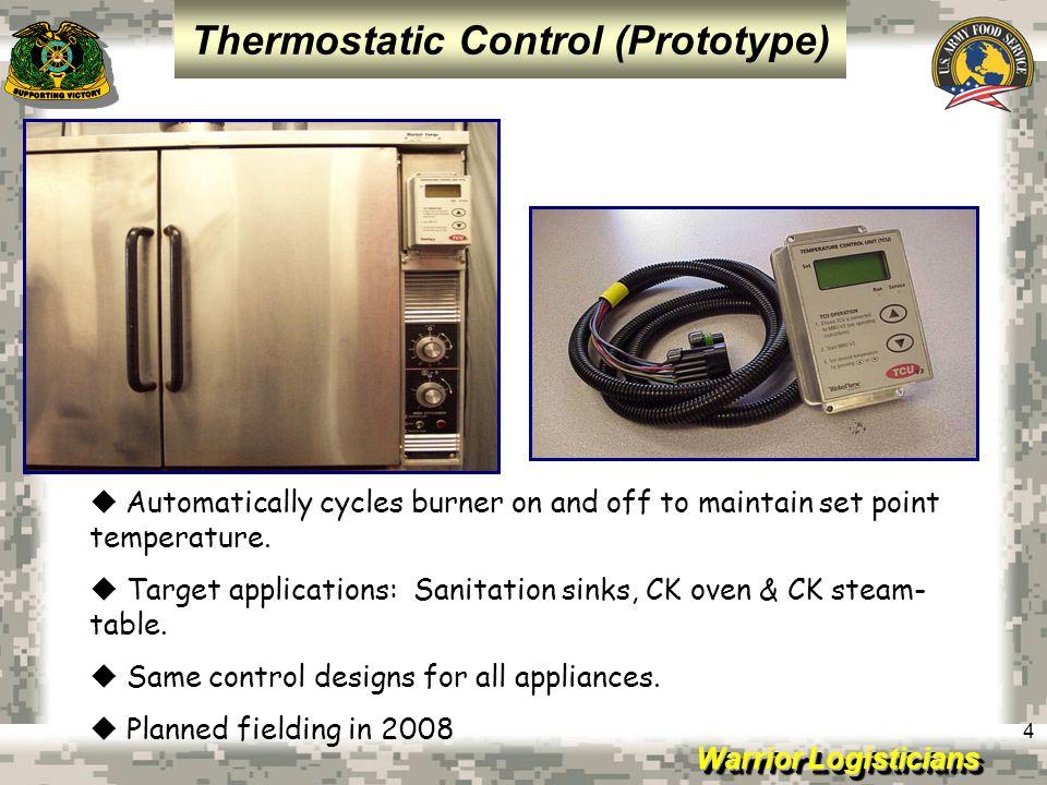 Thermostatic Control (Prototype)