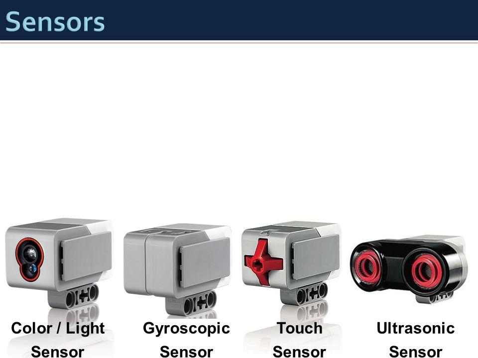 Sensors Color / Light Sensor Gyroscopic Touch Ultrasonic