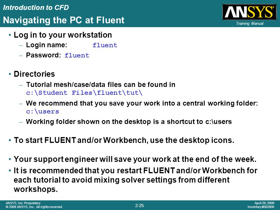 Navigating the PC at Fluent