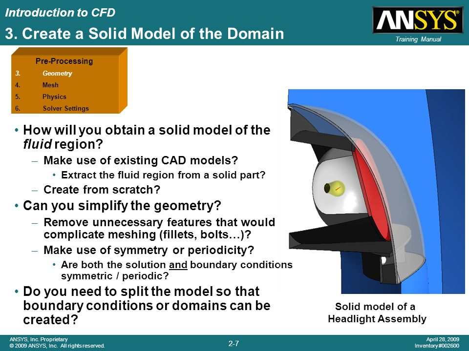 3. Create a Solid Model of the Domain