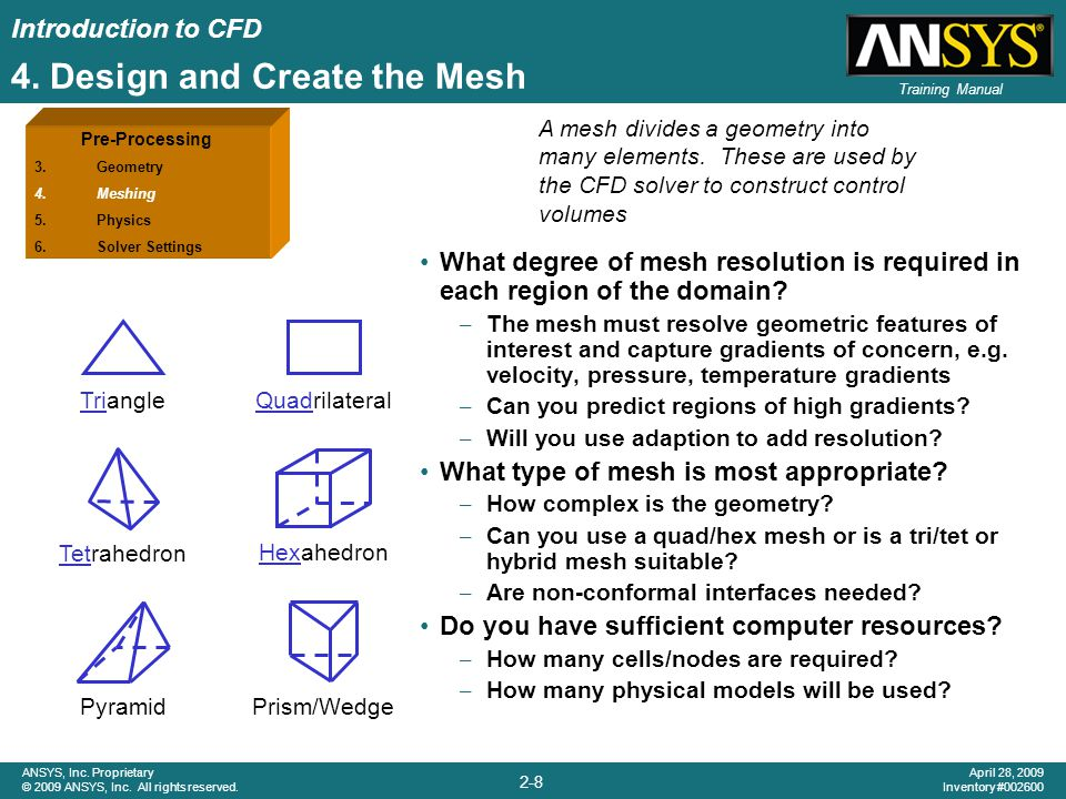 4. Design and Create the Mesh