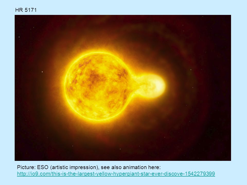 HR 5171 Picture: ESO (artistic impression), see also animation here: