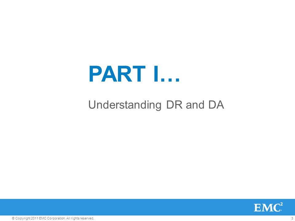 Understanding DR and DA