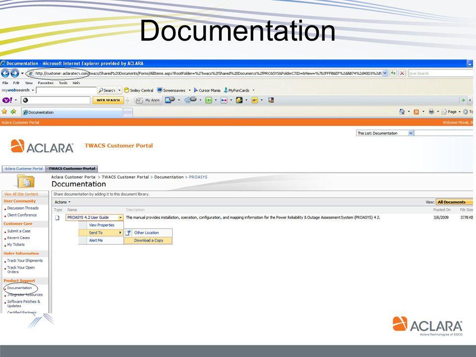 Documentation Map Data Minimum Requirements Serialnumber