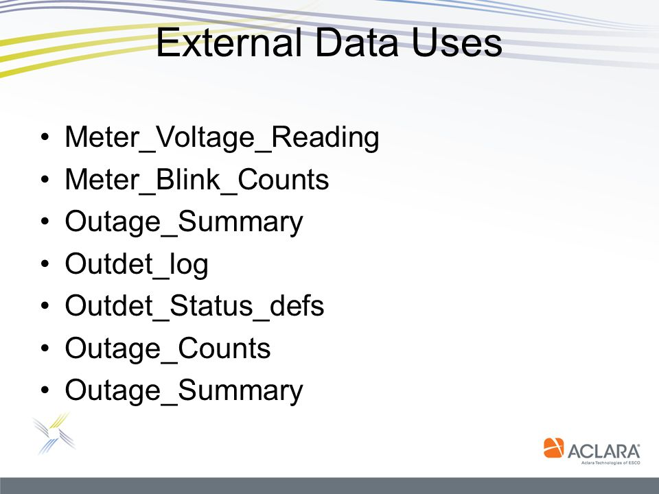 External Data Uses Meter_Voltage_Reading Meter_Blink_Counts