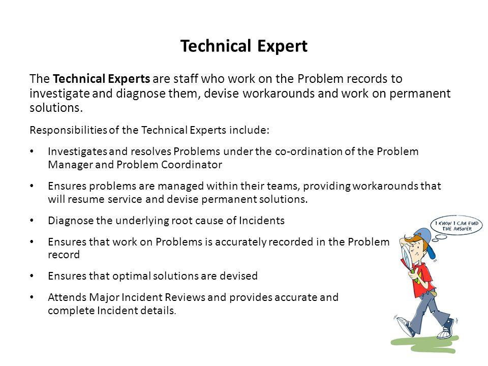 Technical Expert
