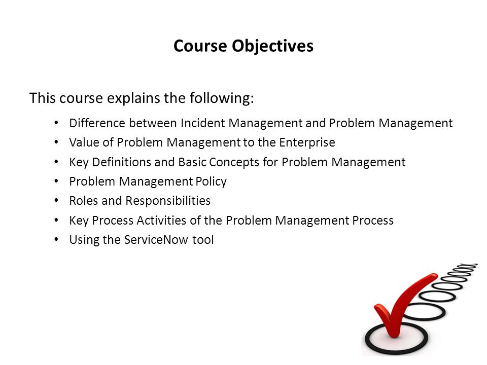 Course Objectives This course explains the following: