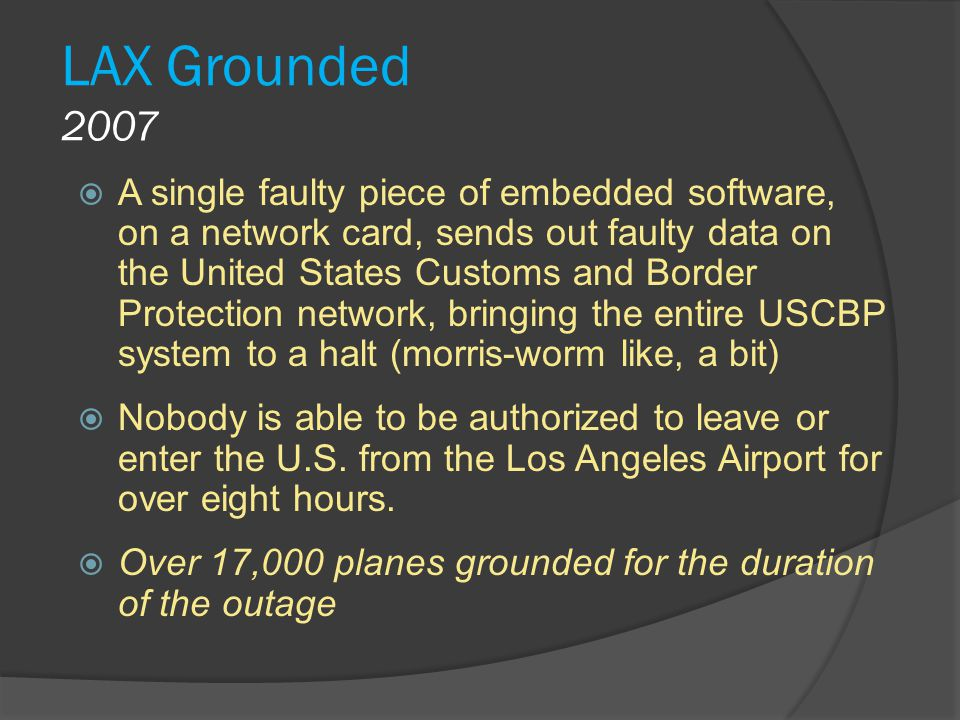 LAX Grounded 2007