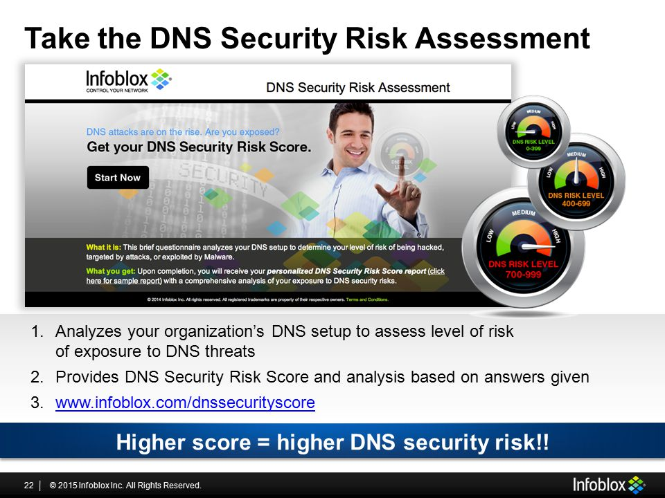Take the DNS Security Risk Assessment