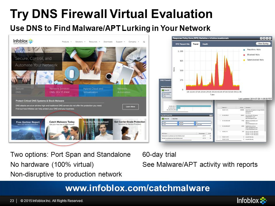 Try DNS Firewall Virtual Evaluation