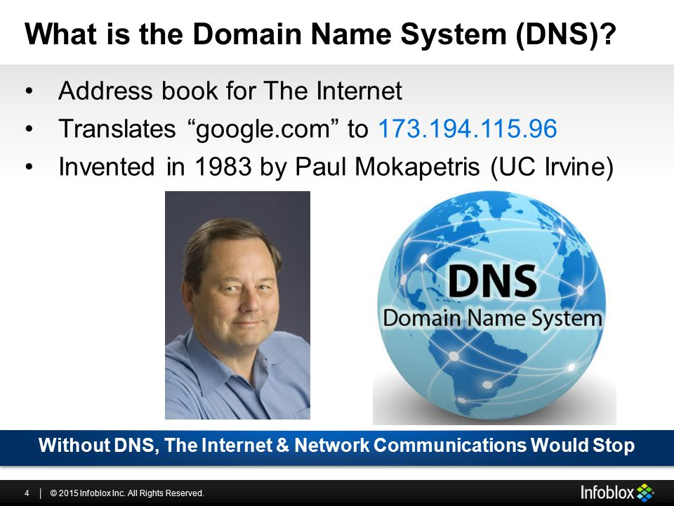 What is the Domain Name System (DNS)