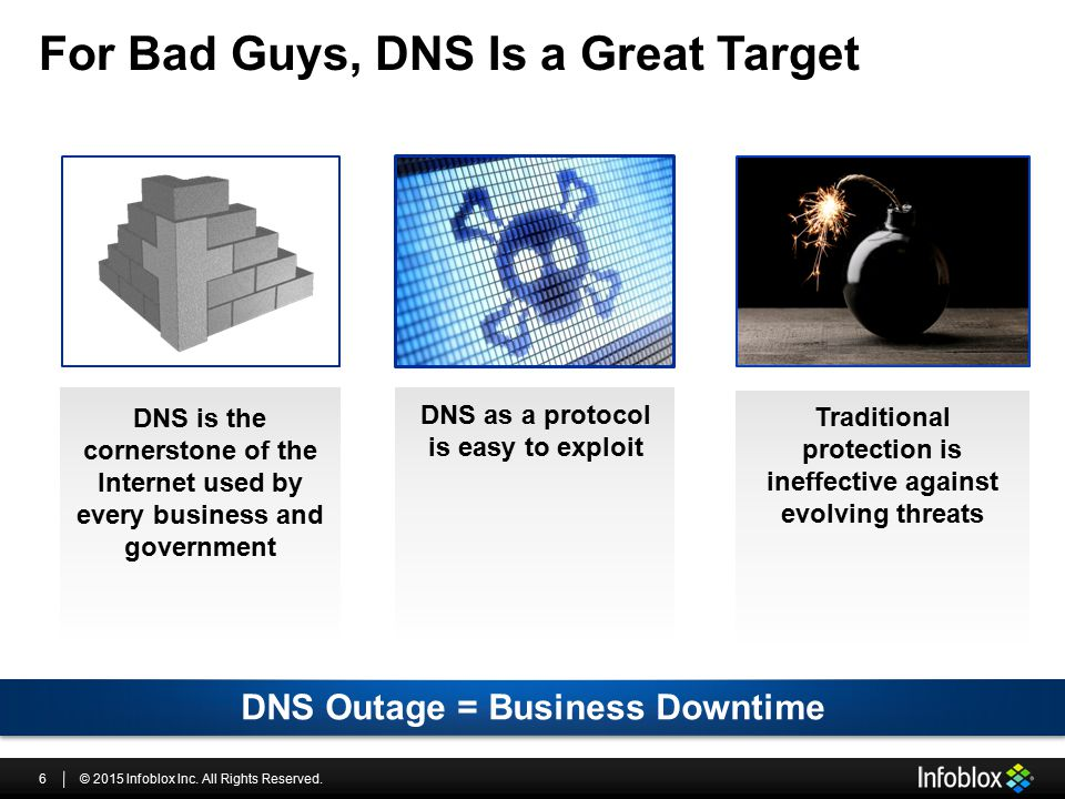 For Bad Guys, DNS Is a Great Target