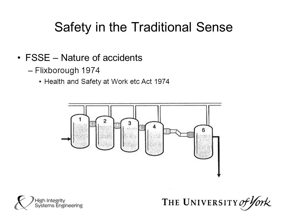 Safety in the Traditional Sense