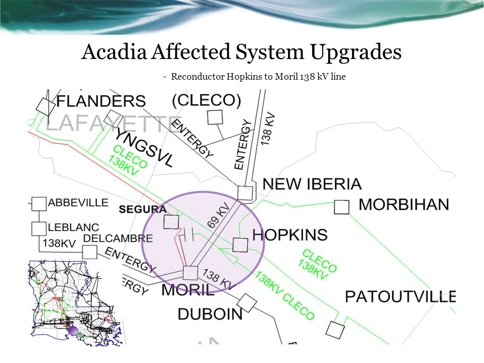 Acadia Affected System Upgrades