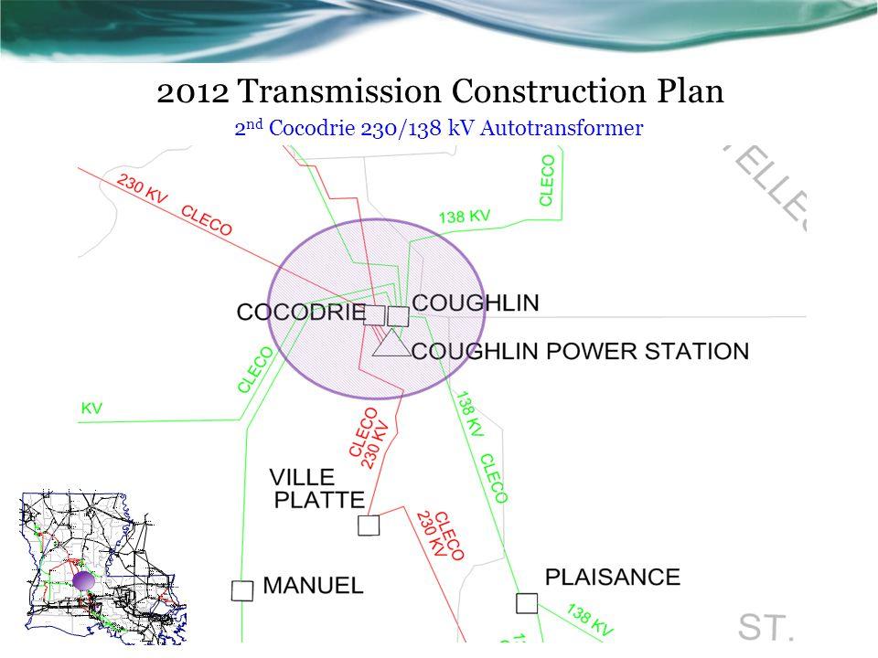 2012 Transmission Construction Plan