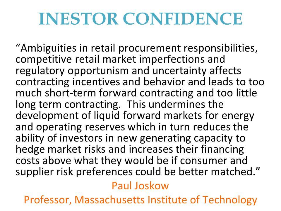 Professor, Massachusetts Institute of Technology