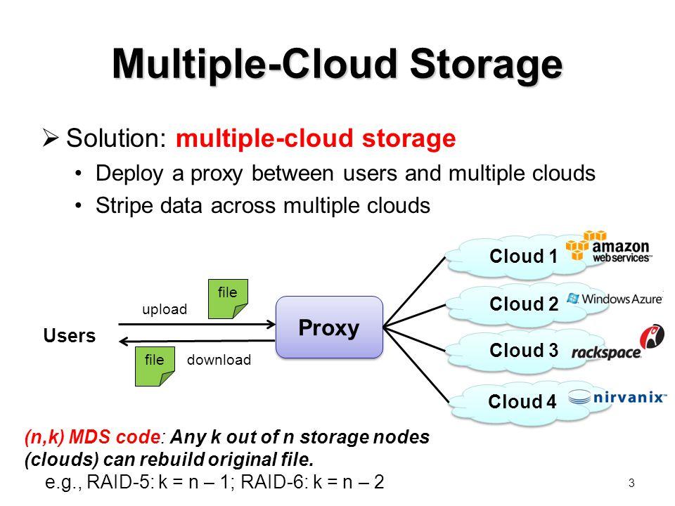 Multiple-Cloud Storage