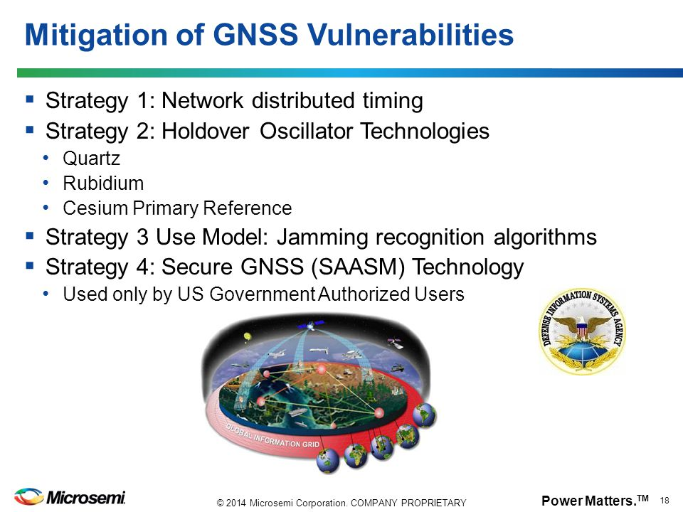 Mitigation of GNSS Vulnerabilities