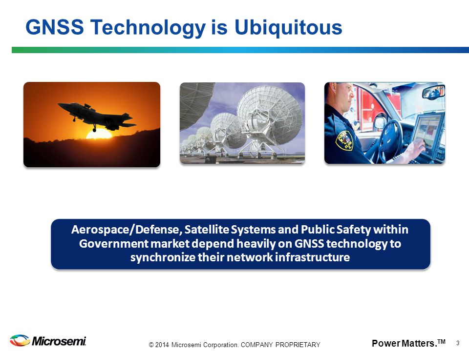 GNSS Technology is Ubiquitous
